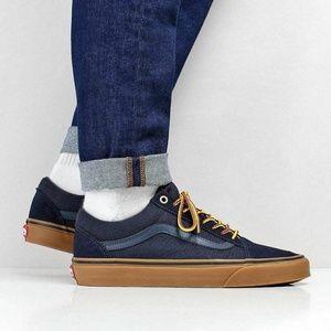 vans old skool chaussures gumsole sky captain boot lace
